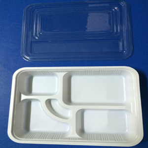 hộp cơm 4 trắng